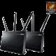 ASUS RT-AC68U, AC1900, Dual-Band USB3.0 Gigabit Aimesh Router, 2ks  + ASUS Cerberus iCafe (v ceně 1399 Kč)