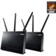 ASUS RT-AC68U, AC1900, Dual-Band USB3.0 Gigabit Aimesh Router, 2ks