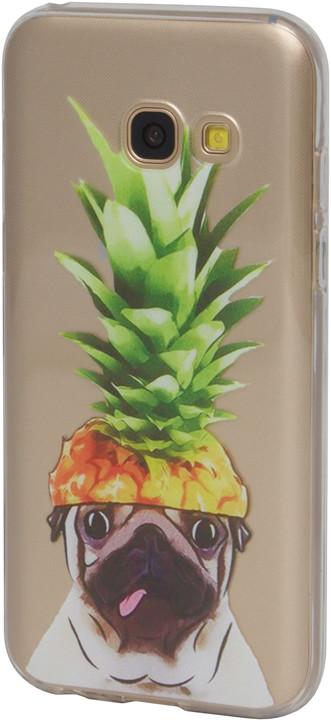 EPICO plastový kryt pro Samsung Galaxy A3 (2017) PINEAPPLE PUG