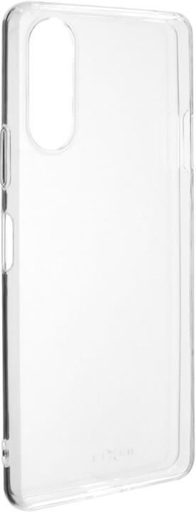FIXED TPU gelové pouzdro pro Sony Xperia 10 II, čirá