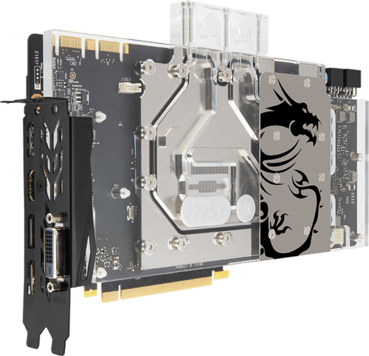 MSI GeForce GTX 1070 SEA HAWK EK X, 8GB GDDR5