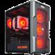 HAL3000 Alfa Gamer Elite 6600 XT, černá