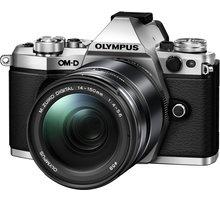 Olympus E-M5 Mark II + 14-150 II, stříbrná/černá