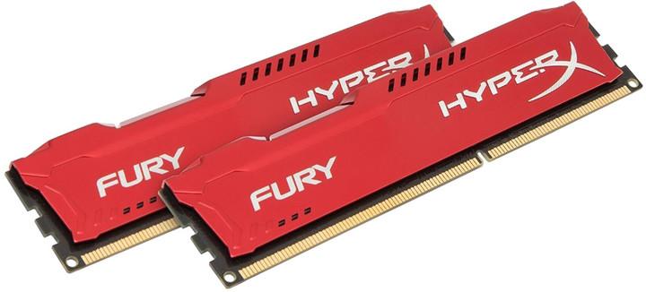 HyperX Fury Red 16GB (2x8GB) DDR4 3200