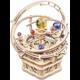Stavebnice RoboTime Historický orloj, hrací skříňka, dřevěná