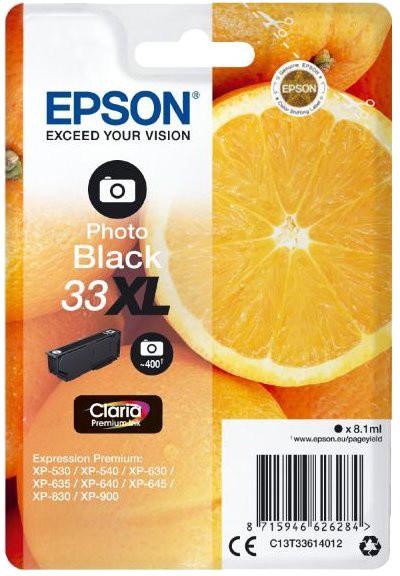 Epson C13T33614012, černá photo XL