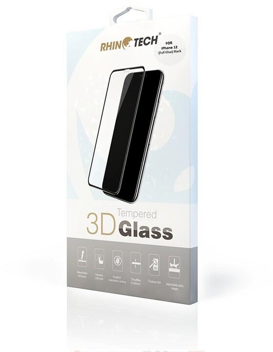 RhinoTech 2 Tvrzené ochranné 3D sklo pro Apple iPhone 12 Mini