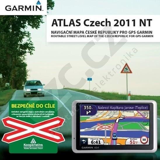 Garmin mapa silniční Atlas Czech 2011 NT - plná verze ke stažení