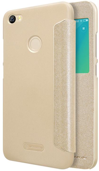 Nillkin Sparkle S-View pouzdro pro Xiaomi Redmi Note 5A Prime, Gold