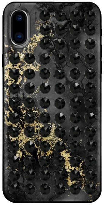 Bling My Thing zadní kryt Extravaganza Pure Onyx/Jet pro Apple iPhone X, Swarovski®