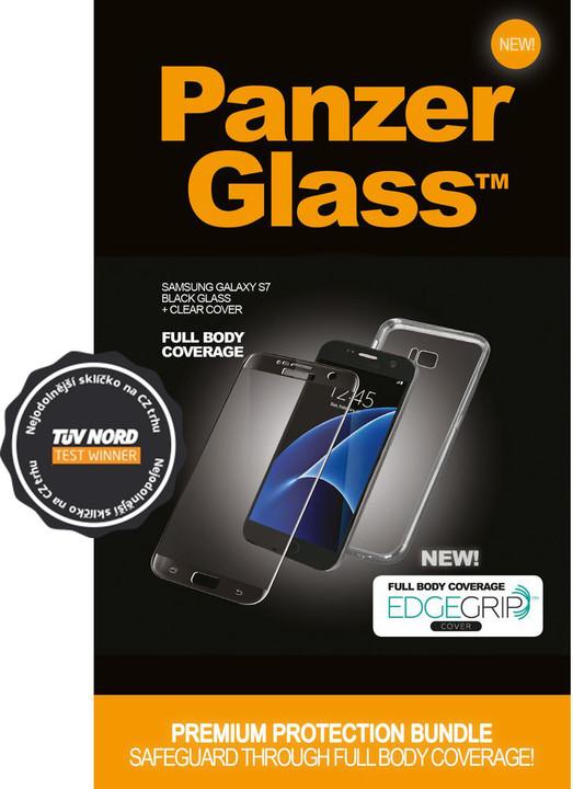 PanzerGlass Premium pro Samsung Galaxy S7 černé + pouzdro