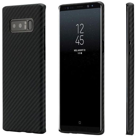 Pitaka Aramid case pro Samsung Galaxy Note 8, černá/šedá
