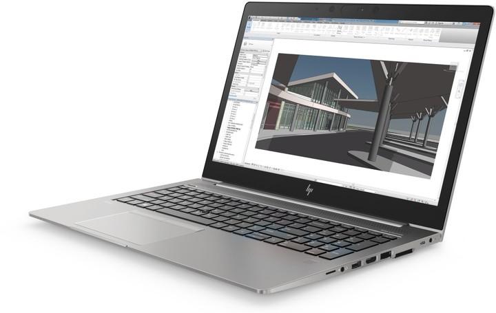 HP ZBook 15u G5, šedá