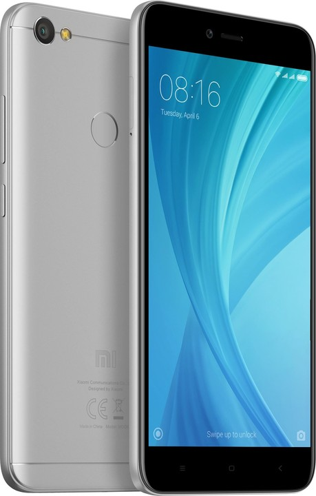 Xiaomi Redmi Note 5A Prime - 32GB, Global, šedá