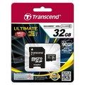 Transcend Micro SDHC 32GB Class 10 UHS-I + adaptér