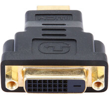 Gembird CABLEXPERT kabel HDMI na DVI, M/F, zlacené kontakty, černá - A-HDMI-DVI-3