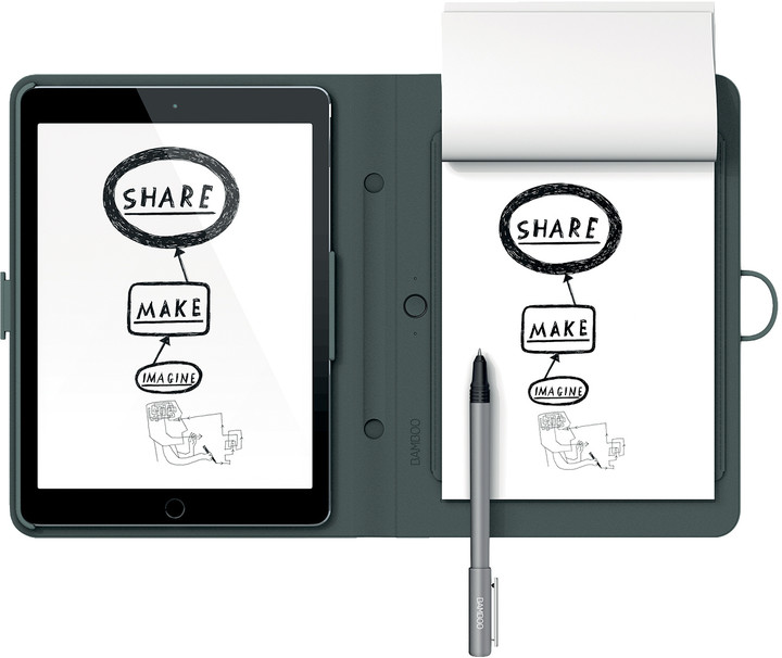 Wacom Bamboo Spark snap-fit iPad Air