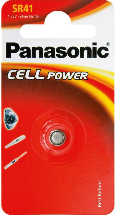 Panasonic baterie 392/384/SR41 1BP Ag