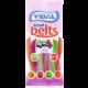 VIDAL Sour belts, želé, kyselé, 4 příchutě, 100g