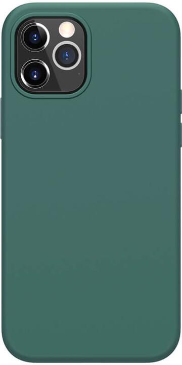 "Nillkin silikonové pouzdro Flex Pure Liquid pro iPhone 12/ 12 Pro (6.1""), zelená"