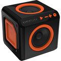 AudioCube - černá, oranžová