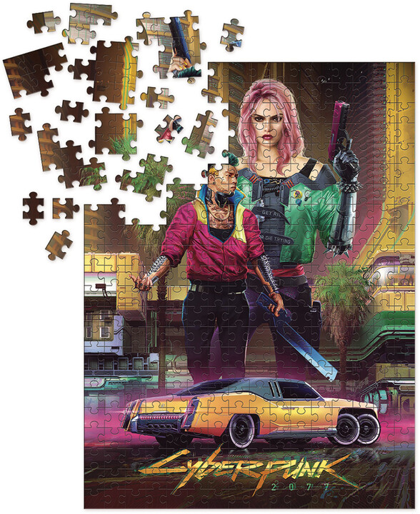 Puzzle Cyberpunk 2077 - Kitsch