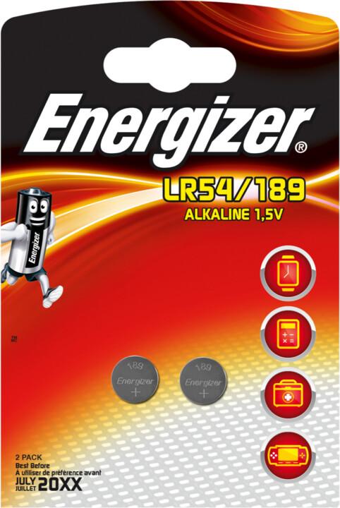 Energizer baterie LR54/189 speciální alkalické, 2ks