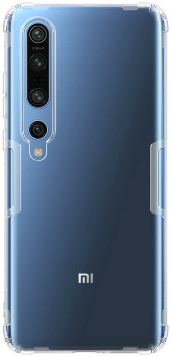 Nillkin pouzdro Nature TPU pro Xiaomi Mi 10/10 Pro, transparentní