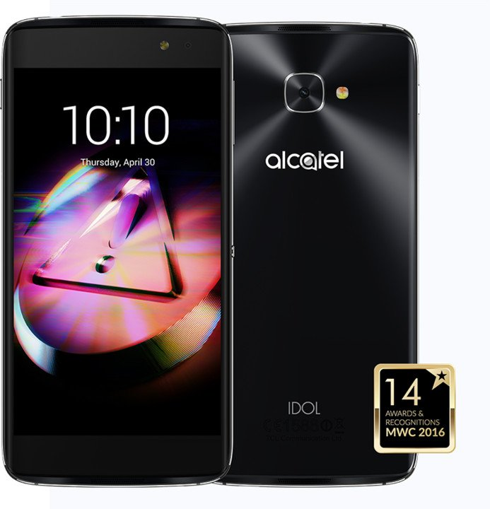 ALCATEL OT-6070K IDOL 4s - VR BOX , šedá