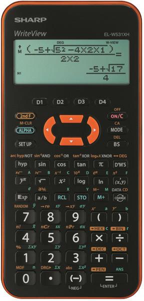 Sharp ELW531XHYRC - oranžová