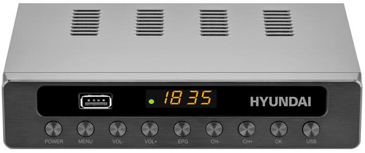 Hyundai DVBT 250 PVR , DVB-T2, černá