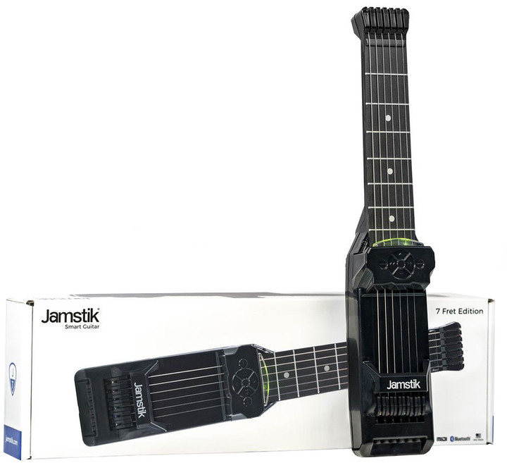 Zivix Jamstik 7 – smart bezdrátová kytara pro samouky s příslušenstvím