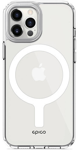 EPICO ochranný kryt Hero Magnetic s MagSafe pro iPhone 12 mini, transparentní