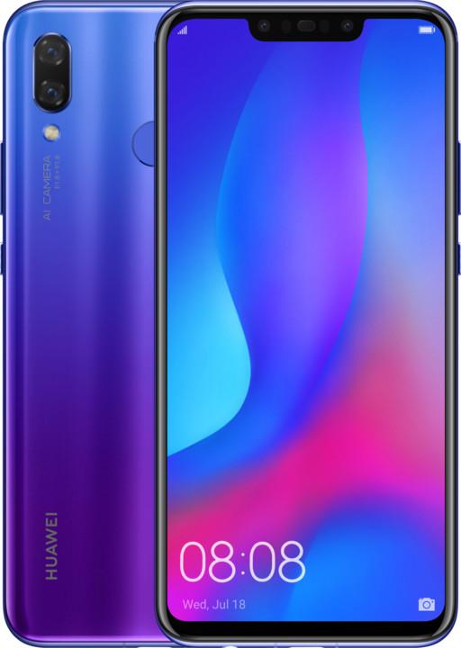 Huawei Nova 3, 4GB/128GB, Iris Purple
