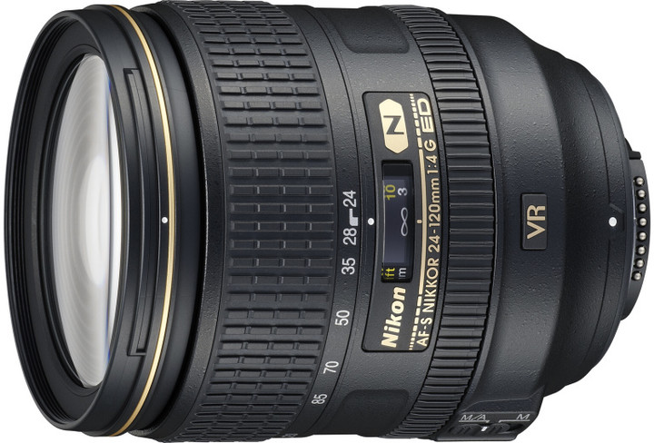 Nikon objektiv Nikkor 24-120mm f/4G ED VR AF-S