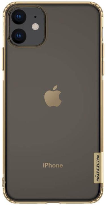 Nillkin Nature TPU pouzdro pro iPhone 11, tawny
