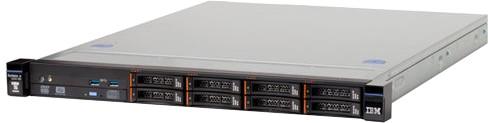 "Lenovo System x TS x3250 M6 /E3-1220v5/8GB/2,5"" bez HDD/1x460W/Rack"