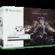 XBOX ONE S, 1TB, bílá + Middle-Earth: Shadow of War  + Voucher Be a Gamer - 5x 100 Kč (sleva na hry nad 999 Kč)