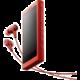 Sony NW-A35, 16GB + sluchátka, červená