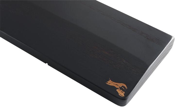 Glorious Wooden Keyboard Wrist Rest, Onyx