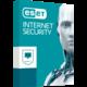 ESET Internet Security pro 1 PC na 1 rok, prodloužení licence  + Voucher až na 3 měsíce HBO GO jako dárek (max 1 ks na objednávku)