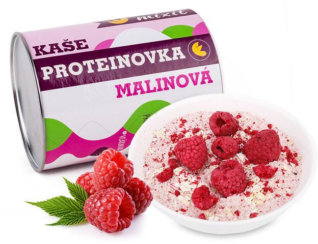 Mixit kaše Proteinovka Malinová, proteinová - malina, 450g