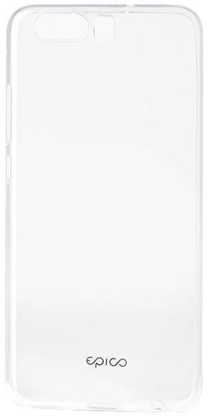 EPICO pružný plastový kryt pro Huawei P10 RONNY GLOSS - bílý transparentní