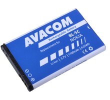Avacom baterie do mobilu Nokia 6230/N70, 1100mAh, Li-Ion - GSNO-BL5C-S1100A