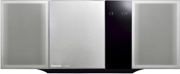 Panasonic SC-HC395EG, stříbrná