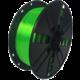 Gembird tisková struna (filament), PLA+, 1,75mm, 1kg, zelená