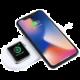 Airpower Wireless Fast Charger for iWatch + iPhone X (Dual)  + Voucher až na 3 měsíce HBO GO jako dárek (max 1 ks na objednávku)