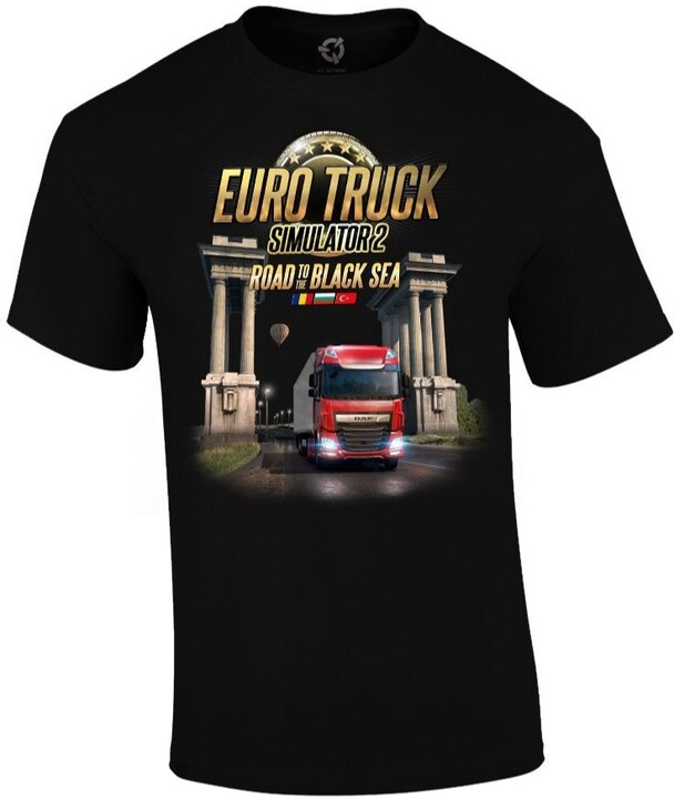 Tričko Euro Truck Simulator - Road to the Black Sea (M)