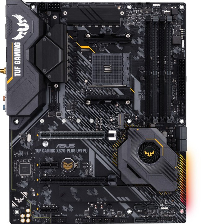 ASUS TUF GAMING X570-PLUS (Wi-Fi) - AMD X570