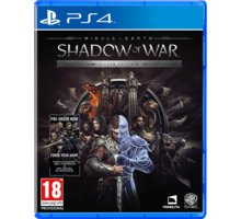 Middle-Earth: Shadow of War - Silver Edition (PS4) - 5051892209304